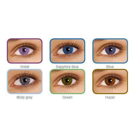 Soczewki kontaktowe FreshLook Colors - 2 szt.