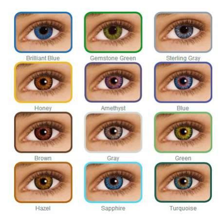 Soczewki kontaktowe FreshLook ColorBlends - 2 szt.