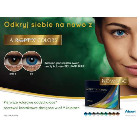 Soczewki kontaktowe Air Optix  Colors - 2 szt.