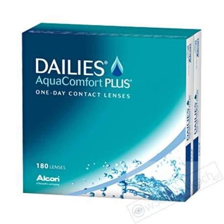 Soczewki kontaktowe Dailies AquaComfort Plus - 180 szt.