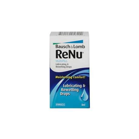 Krople do oczu ReNu MultiPlus Lubricating & Rewetting Drops - 8 ml