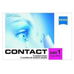 Soczewki kontaktowe Zeiss contact Day1 Easy Wear - 5 szt.