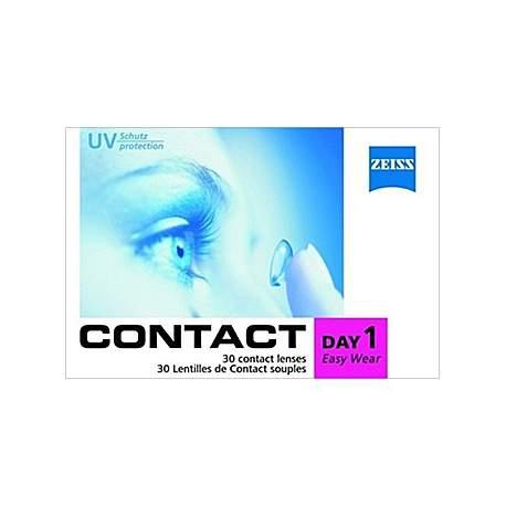 Soczewki kontaktowe Zeiss contact Day1 Easy Wear - 30 szt.