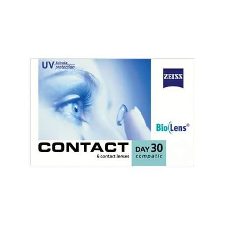 Soczewki kontaktowe Zeiss contact Day30 Compatic - 6 szt.