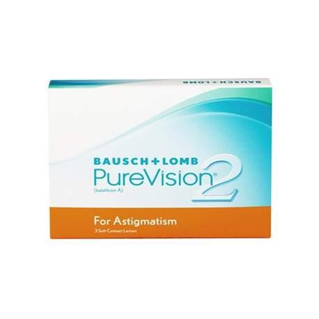 Soczewki kontaktowe PureVsion 2HD for Astigmatism - 3 szt.