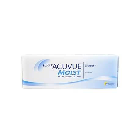 Soczewki kontaktowe Acuvue 1 Day Moist - 30 szt.