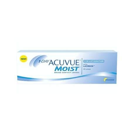 Soczewki kontaktowe Acuvue 1 Day Moist For Astigmatism - 30 szt.
