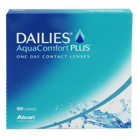 Soczewki kontaktowe Dailies AquaComfort Plus - 90 szt.