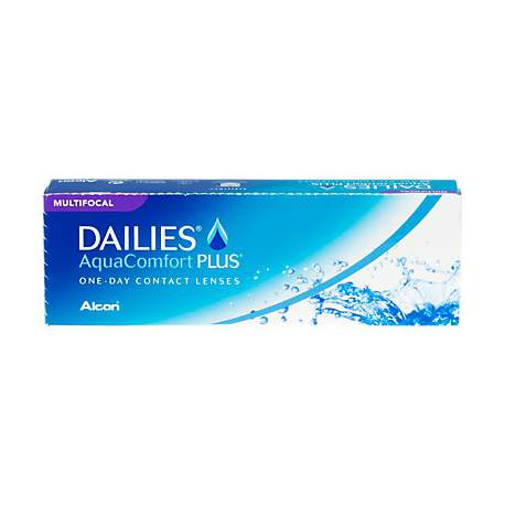 Soczewki kontaktowe Dailies AquaComfort Plus Multifocal - 30 szt.