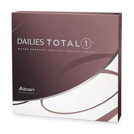 Soczewki kontaktowe Dailies Total1 - 90 szt.