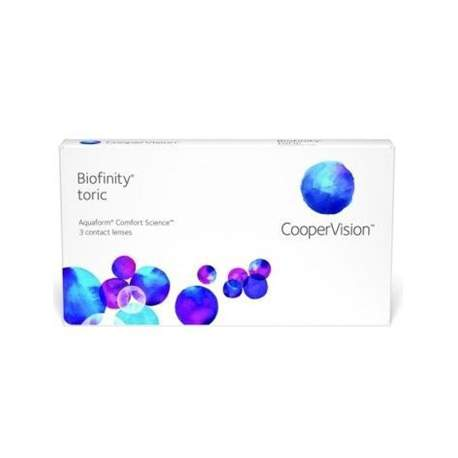 Soczewki kontaktowe Biofinity Toric - 3 szt.