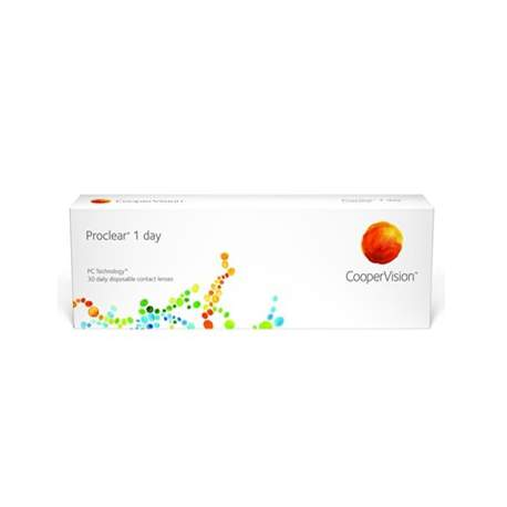 Soczewki kontaktowe Proclear 1 day - 30 szt.