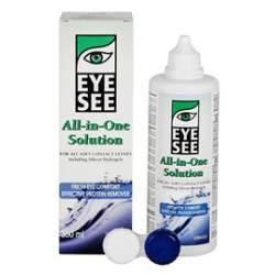 Płyn pielęgnacyjny do soczewek kontaktowych EYE SEE All-in-One Solution - 360 ml