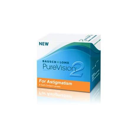 Soczewki kontaktowe PureVsion 2HD for Astigmatism - 6 szt.