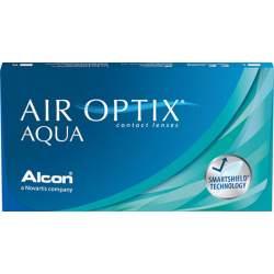 Soczewki kontaktowe Air Optix Aqua - 3 szt.