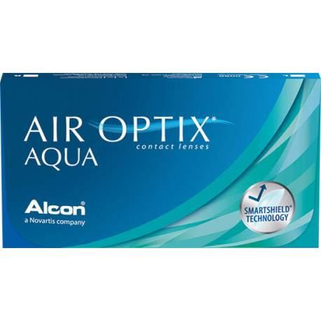 Soczewki kontaktowe Air Optix Aqua - 6 szt.