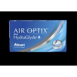 Soczewki kontaktowe Air Optix plus HydraGlyde - 6 szt.