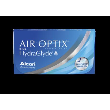 Soczewki kontaktowe Air Optix plus HydraGlyde - 3 szt.