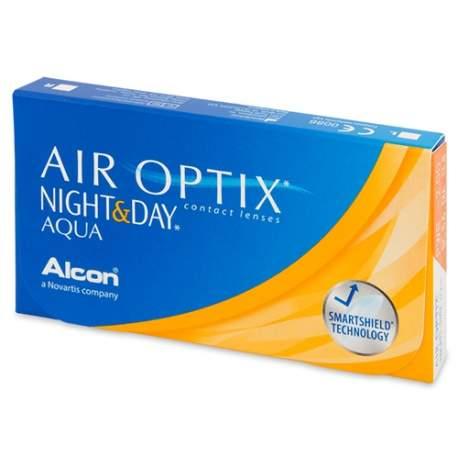 Soczewki kontaktowe Air Optix Night & Day Aqua - 6 szt.