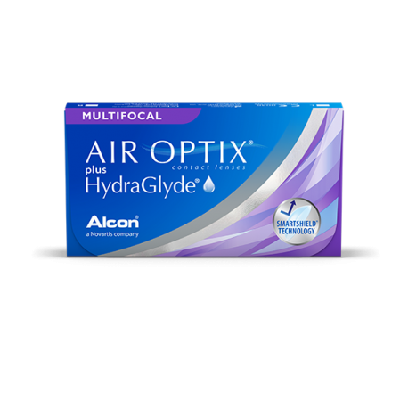 Soczewki kontaktowe Air Optix Aqua Multifocal - 6 szt.