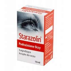 Krople do oczu Starazolin - 10 ml - łagodzą zaczerwienienia