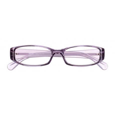 Vera col. 1232 - front: szaro-fioletowy transparentny, zausznik: biały transparentny.