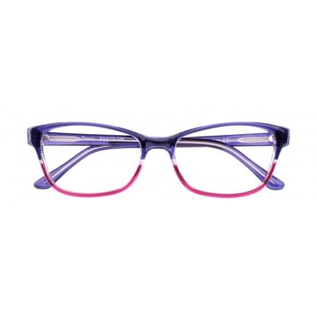 Zanna col. 3313 - front: ½ fioletowy / malinowy, zausznik: fioletowy.