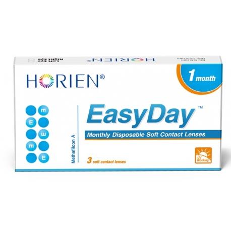 Soczewki kontaktowe Horien EasyDay - miesięczne - 3 szt.