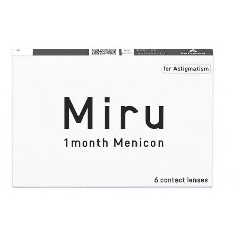 Soczewki kontaktowe Miru for Astigmatism - 6 szt.
