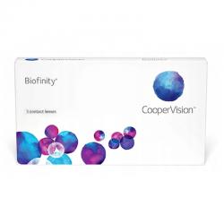 Soczewki kontaktowe Biofinity - 3 szt. - CooperVision