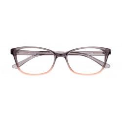 Zanna Pastel col. 1241 - front: ½ szary transparentny - brązowy transparentny, zausznik: szary transparentny.