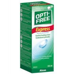 Płyn pielęgnacyjny do soczewek kontaktowych OPTI-FREE Express - 355 ml