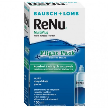 Płyn pielęgnacyjny do soczewek ReNu Multiplus - 100 ml