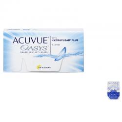 Soczewki kontaktowe Acuvue Oasys with Hydraclear Plus - 1 szt.