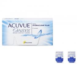 Soczewki kontaktowe Acuvue Oasys with Hydraclear Plus - 2 szt.