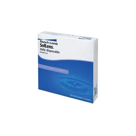 Soczewki kontaktowe SofLens Daily Disposable - 90 szt.
