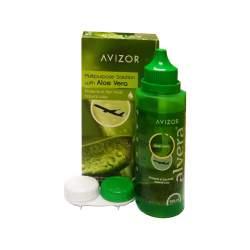 AVIZOR alvera - 100 ml - płyn pielęgnacyjny do soczewek kontaktowych dla alergików