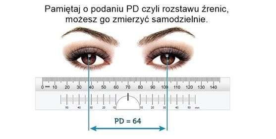 Pomiar PD - rozstawu źrenic